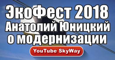 ЭкоФест 2018 Анатолий Юницкий о модернизации струнных дорог