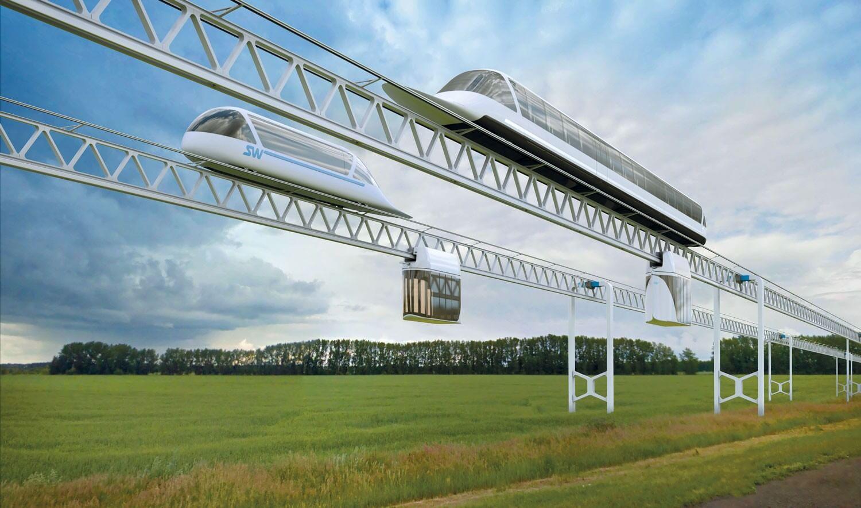 Высокоскоростной транспортный модуль SkyWay