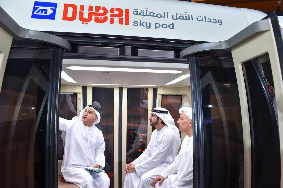 9. SkyWay представили наследному принцу Дубая и эмиру Шарджи
