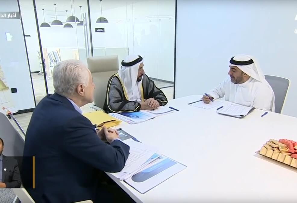 SkyWay представили наследному принцу Дубая