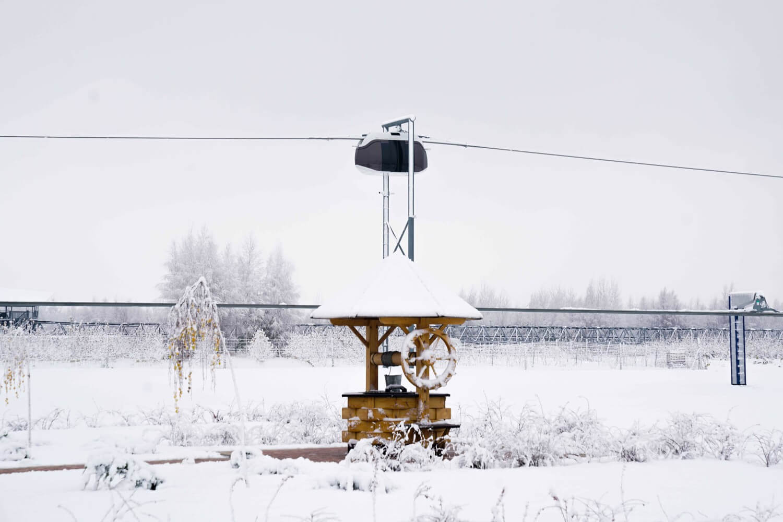 10. Первый снег в ЭкоТехноПарке SkyWay