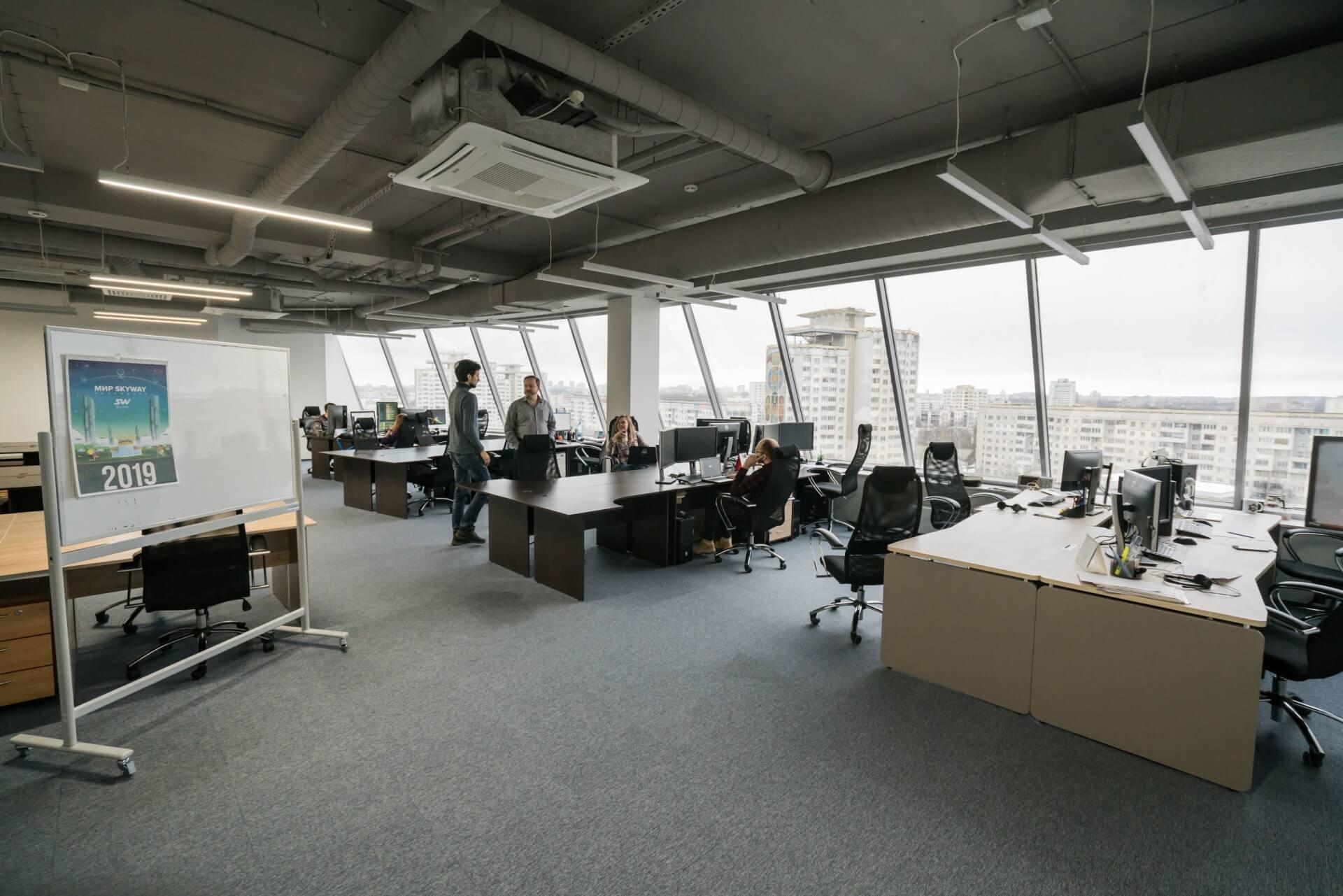 Новый офис SkyWay